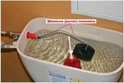 Регулировка пластины поплавка