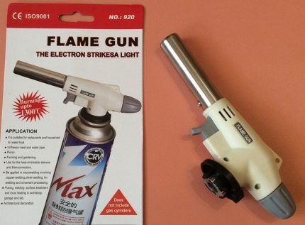 Недорогая горелка Flame Gun