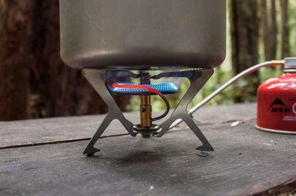 Газовая горелка со шлангом
