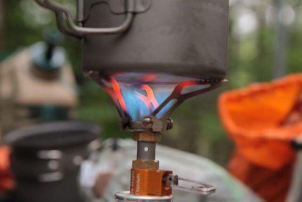 Набаллонная газовая горелка