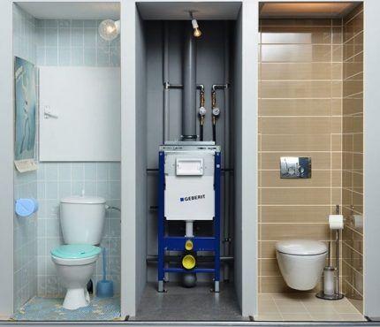Инсталляционное оборудования стандартного типа