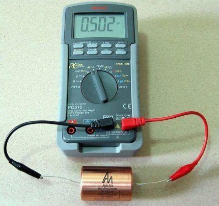 Гарантия на конденсатор