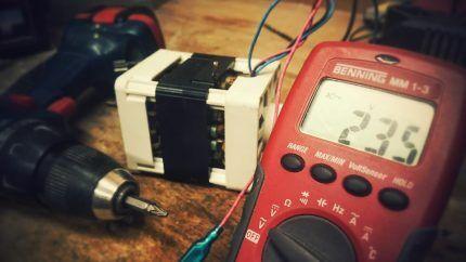 Проверка аналоговым мультиметром