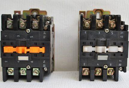 Классические электромагнитные пускатели