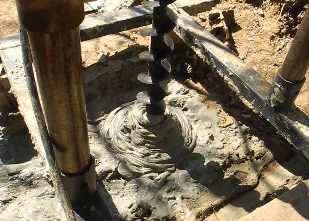 Устройство скважины под воду