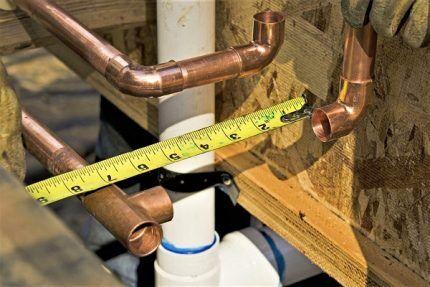 Рулетка для измерительных работ