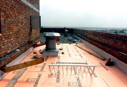 Пеноплекс Уклон на крыше