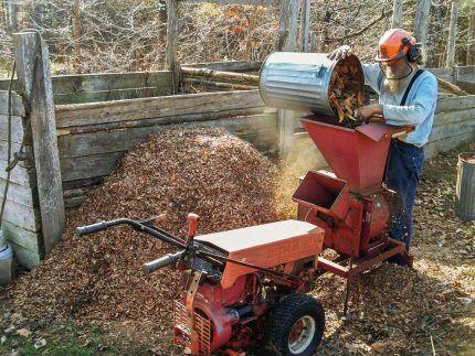 Дробилка для измельчения древесных отходов