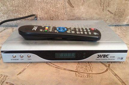 Ресивер телевизионного сигнала