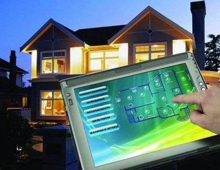 Реализован проект умного дома