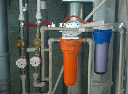 Магистральные фильтры на трубах
