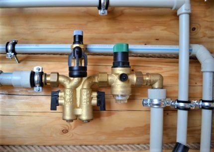 Трубопровод холодного водоснабжения