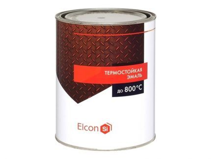Универсальные термостойкие эмали Elcon