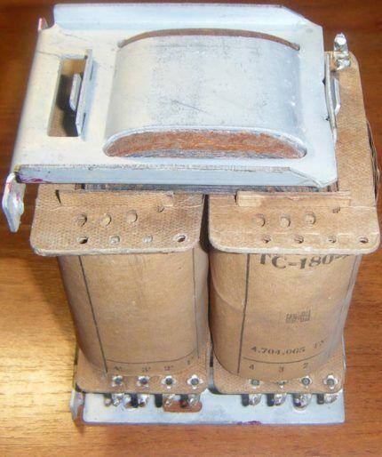 Силовой трансформатор ТС-180 для стабилизатора