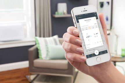Мобильное приложение для контроля климата в помещении