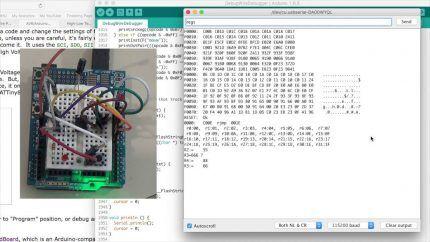 Отладка программы для Arduino