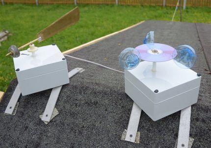 Прибор измерения скорости ветра