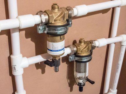 Водяные фильтры на входе в квартиру