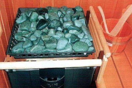 Форма камней для печи