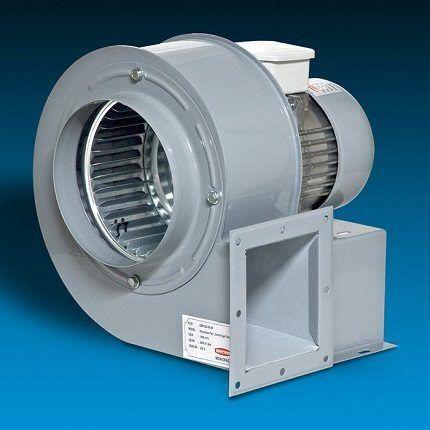 Радиальные канальные вентиляторы