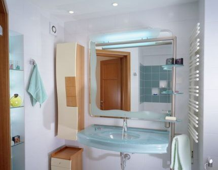 Канальный вентилятор в ванной