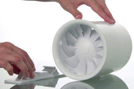 Пластиковый корпус вентилятора
