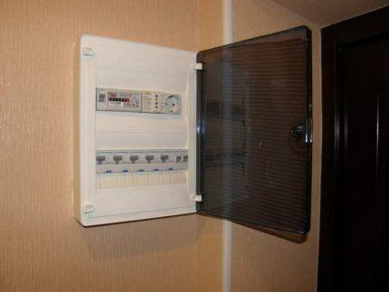 Электрощит в квартире