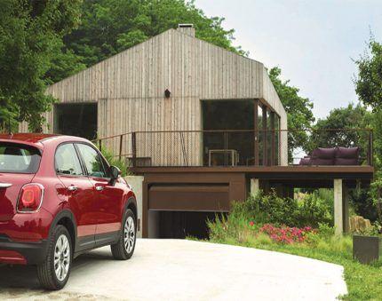 Подъемные автоматизированные гаражные ворота