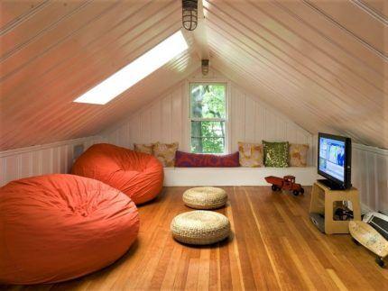 Комната в утепленной мансарде