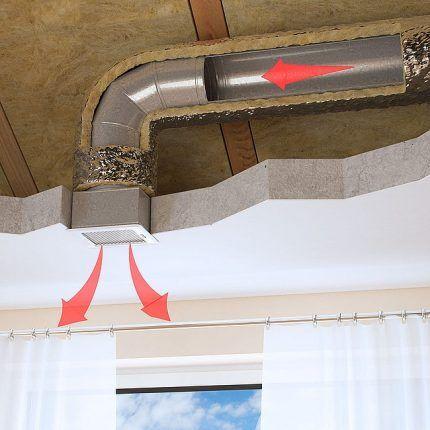 Эксплуатация вентиляционной решетки