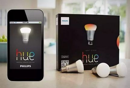 Лампочка Philips Hue Light Bulb