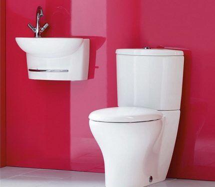 Размеры мини-раковины для туалета