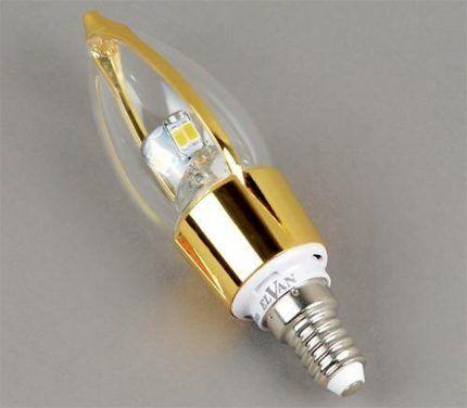 "Лампа с цоколем ""E14"""