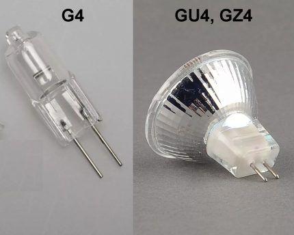 """Лампы с цоколем """"G4"""""""