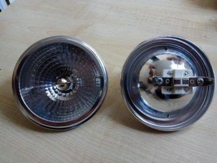 Лампа с цоколем