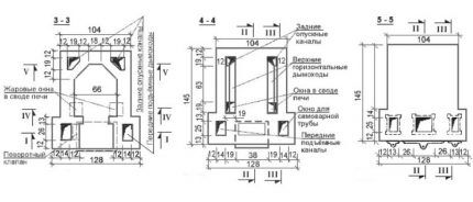 Схемы рядов с 12 по 27