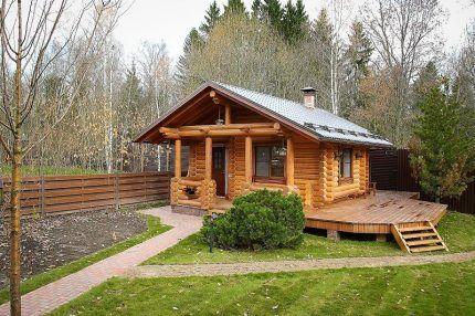 Гостевой домик и баня