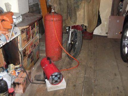 Газовый обогреватель на пропане