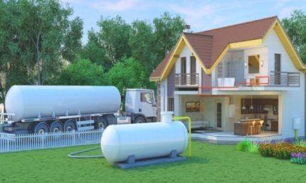 Эффективность использования газгольдерного газа
