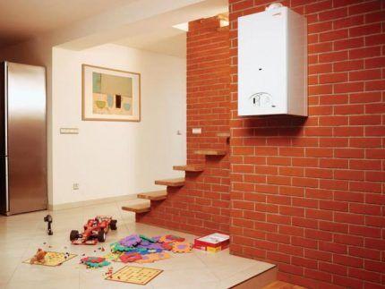 Газовое отопление квартир