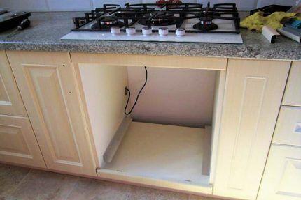 Ниша для газовой духовки