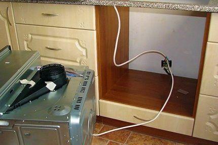 Электропитание газовой духовки