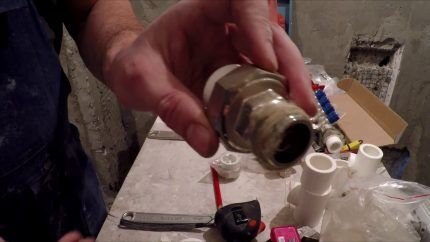 Герметизация газовых стыков
