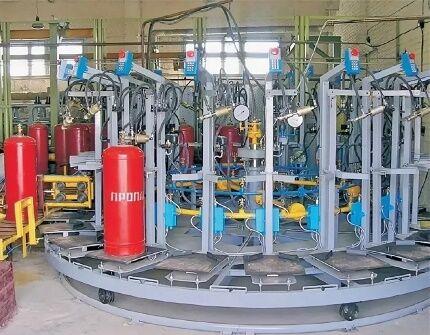 Оборудование газонаполнительной станции
