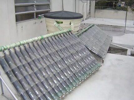 Самодельный коллектор для нагрева воды