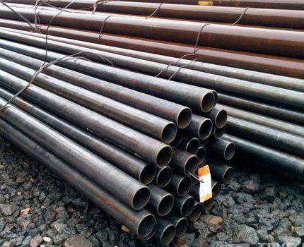Новые газовые трубы от производителя