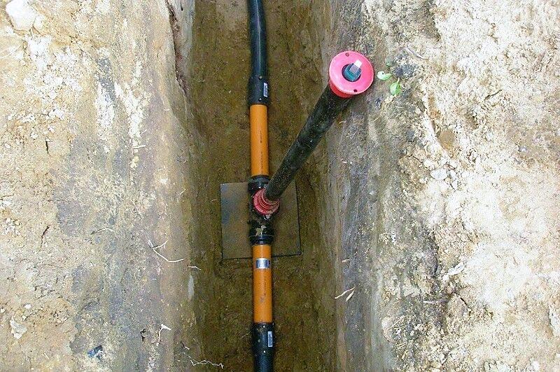 газопровод как делают выход из земли фото показать вам некоторые