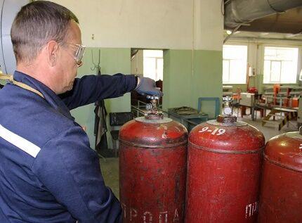 Исследование состяния газового баллона