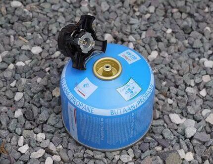 Газовый баллончик с клапанным типом присоединения