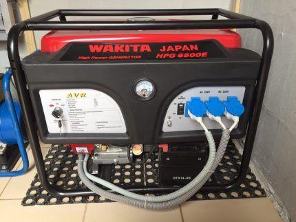 Бензиновый генератор для газового котла